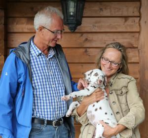Joy vom Gut Nordholz bereichert jetzt die Familie Rathert in Minden.